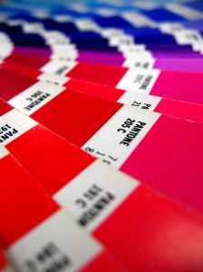Printed Pantone Swatches