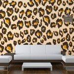 Bespoke Wallpaper Leopard Skin Print