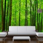 Bespoke Wallpaper Forest Woodland Scene Print