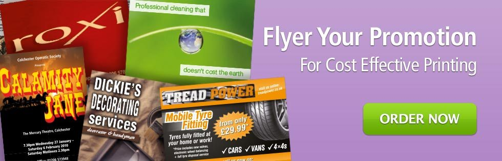 Flyer Your Promotion with Print Colchester