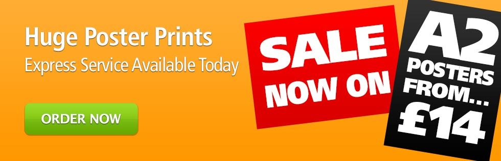 Huge Poster Printing - Order Today from Print Colchester