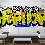 Bespoke Wallpaper HipHop Graffiti Print
