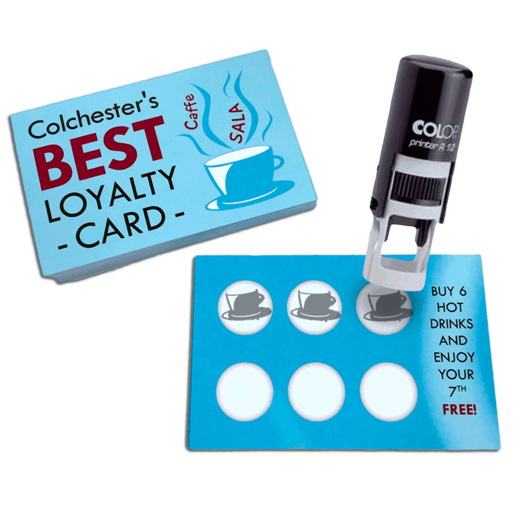 Loyalty Cards Print Colchester - Loyalty card template