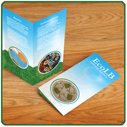 Free folding with your A3 leaflets