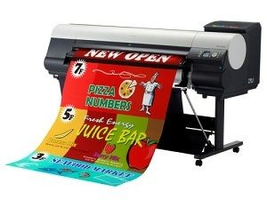 Canon Pop Up Banner Printer