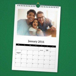 Make Your Own 2016 Calendar