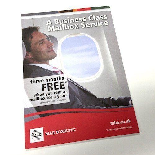 Mail Boxes Etc Colour Leaflet