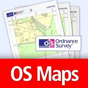 Ordnance Survey Planning Application Maps