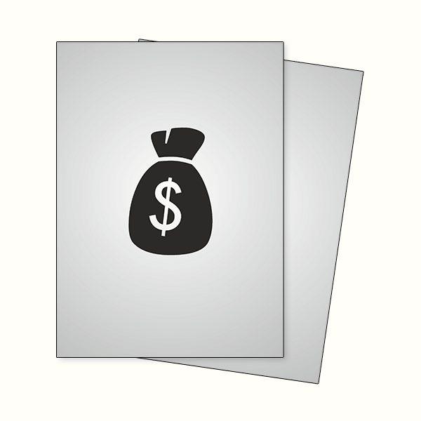 Don't waste money on leaflets