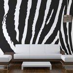 Bespoke Wallpaper Zebra Print