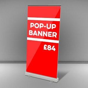 Pop Up Banner £84