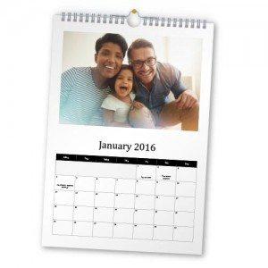Portrait Calendar for 2016 Wire Bound