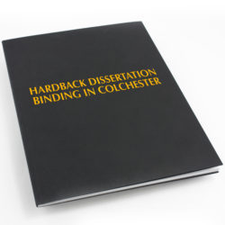 Hardback dissertation printing in Colchester