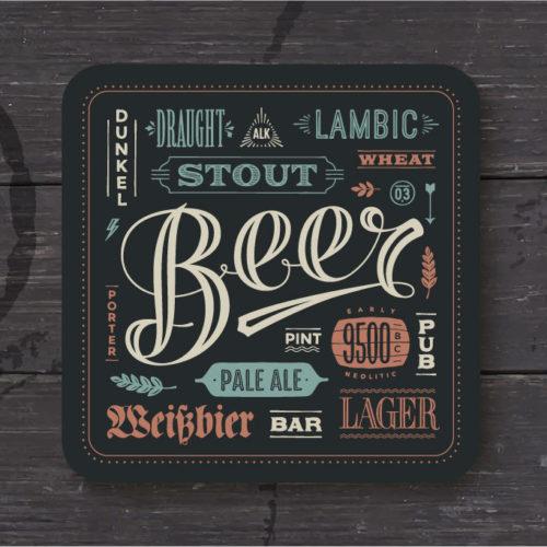 Beer Mat Printing
