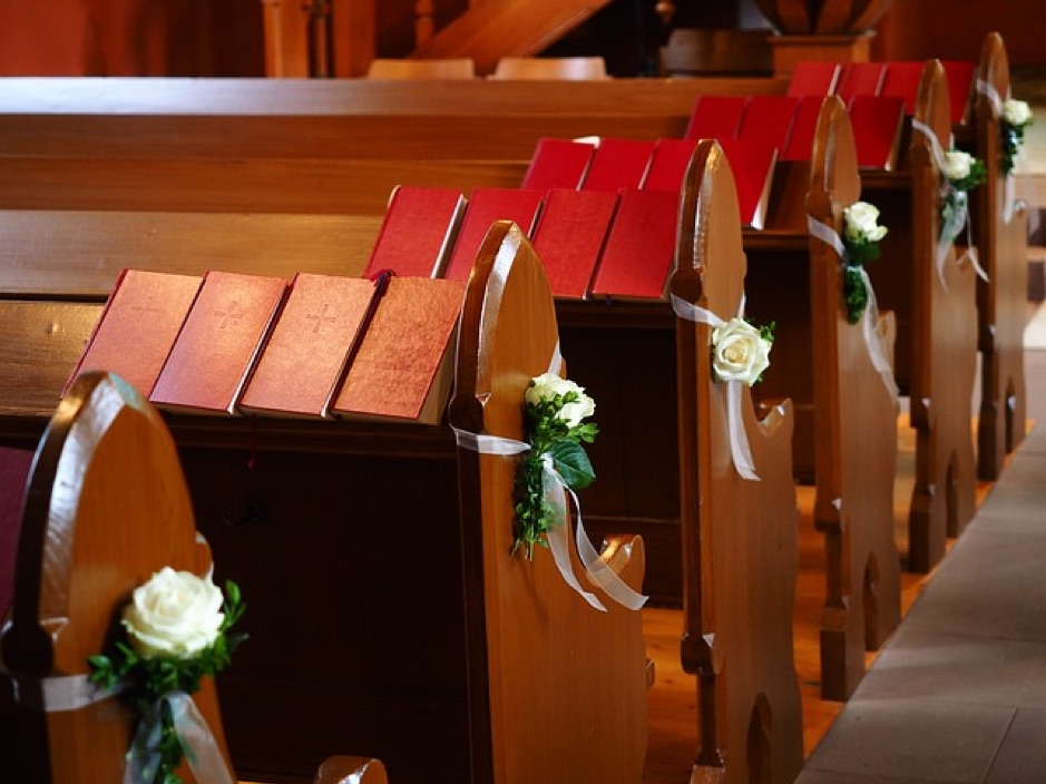 Wedding, christening and funeral order of service